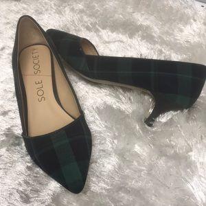 NWOB. kitten heels by Sole Society.